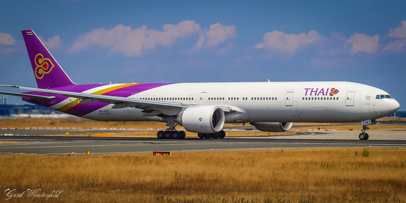 Boeing 777 der Thai Airways